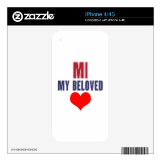 Michigan  my beloved skin for iPhone 4S