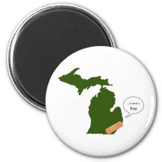 Michigan Needs a Hug Magnet