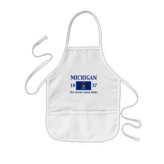 Michigan Nickname Kids' Apron