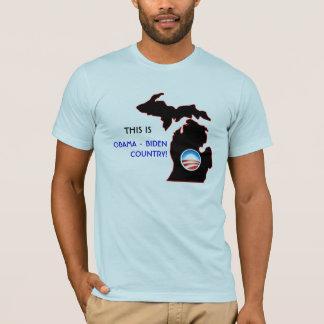 Michigan - Obama Country T-Shirt