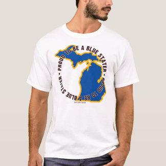 Michigan: ¡Orgulloso ser una camiseta azul de