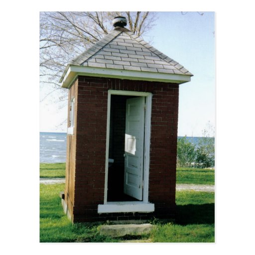 Michigan Outhouse Post Card