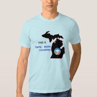 Michigan - país de Obama Playeras