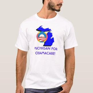 Michigan para Obamacare Playera