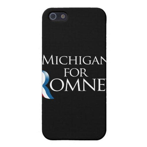 Michigan para Romney - .png iPhone 5 Protector