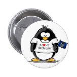 Michigan penguin pin