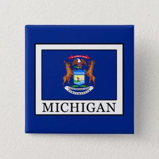 Michigan Pinback Button