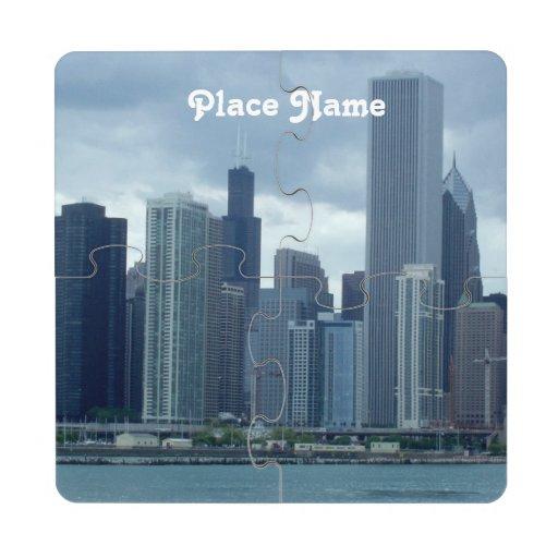 Michigan Puzzle Coaster