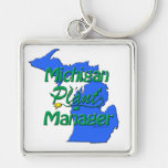Michigan Plant Manager Key Chain