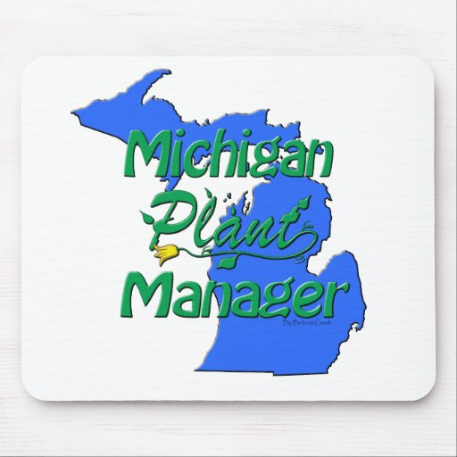 Michigan Plant Manager Mouse Pad