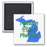 Michigan Plant Manager Refrigerator Magnet