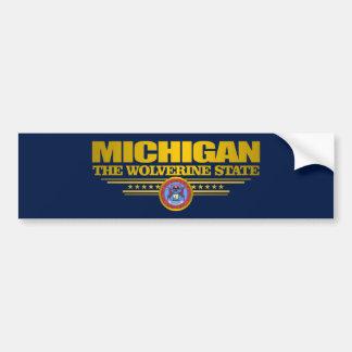 Michigan Pride Car Bumper Sticker