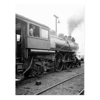 Michigan Railroad central, 1904 Tarjetas Postales