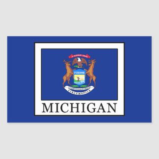 Michigan Rectangular Sticker