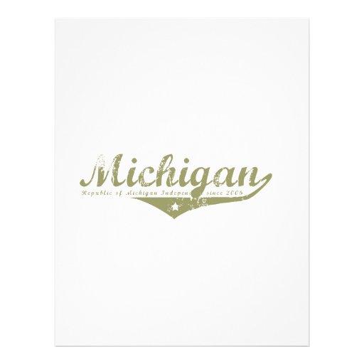 Michigan Revolution T-shirts Letterhead