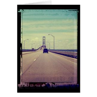 Michigan Road Trip Card