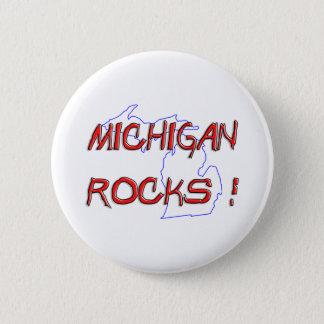 Michigan ROCKS Button