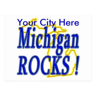 Michigan Rocks ! Post Card