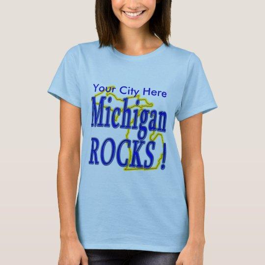 Michigan Rocks ! T-Shirt