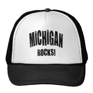 Michigan Rocks! Trucker Hat