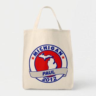 Michigan Ron Paul Tote Bag