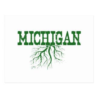 Michigan Roots Postcard