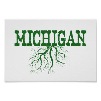 Michigan Roots Print