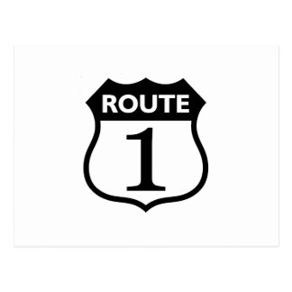 Michigan Route 1 Woodward Gifts By Gear4gearheads Postcard