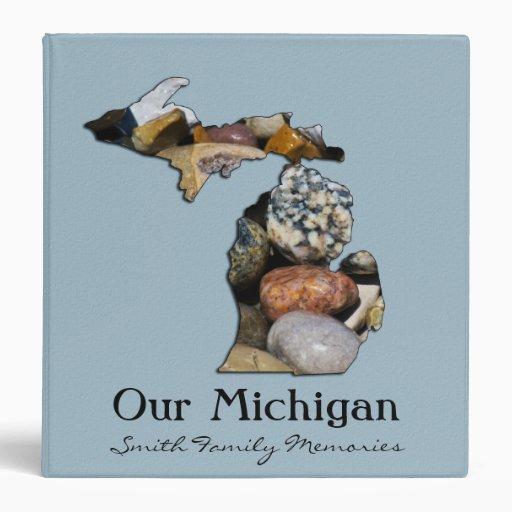 "Michigan Scrapbook Binder (1.5"")"