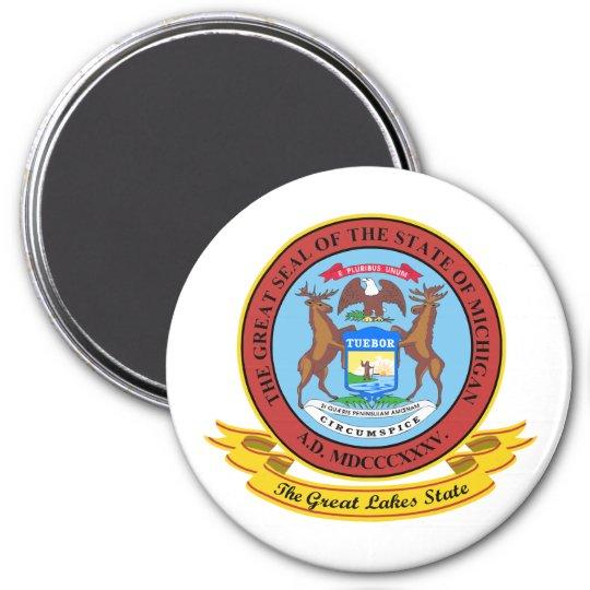 Michigan Seal Magnet