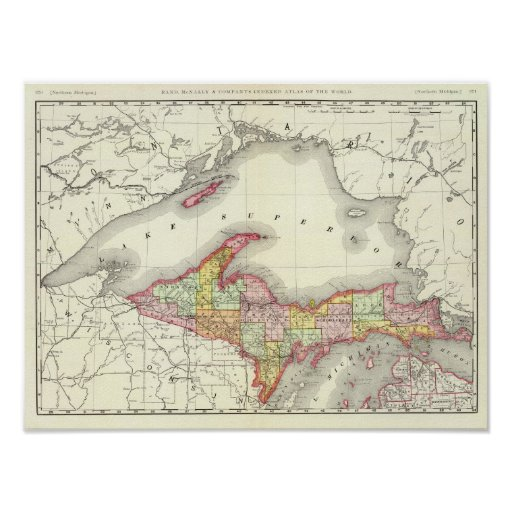 Michigan septentrional poster