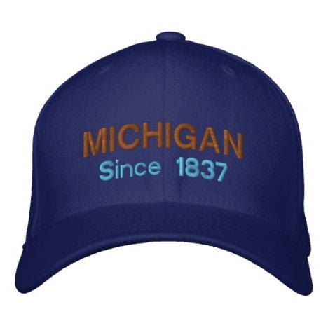 Michigan Since 1837 Cap