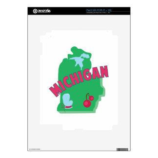 Michigan Decal For iPad 2