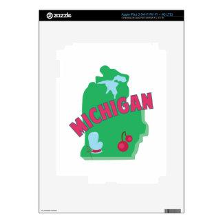 Michigan iPad 3 Skin