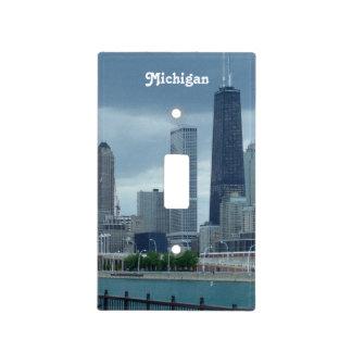 Michigan Skyline Light Switch Plates