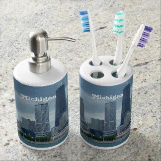 Michigan Skyline Toothbrush Holders