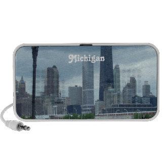 Michigan Skyline PC Speakers