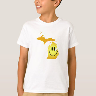 Michigan Smiley Face T-Shirt