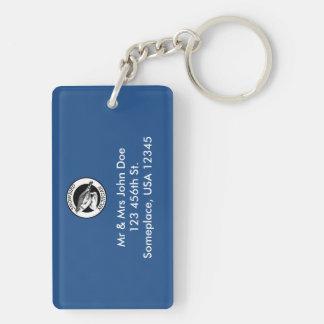Michigan Snowbird Keychain