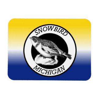 Michigan Snowbird Magnet