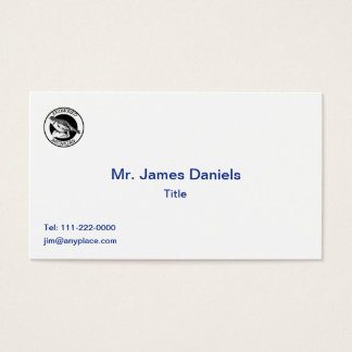 MIchigan Snowbird Shield Business Card