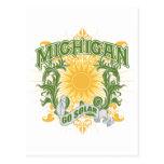 Michigan solar tarjeta postal