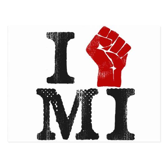 Michigan Solidarity Postcard