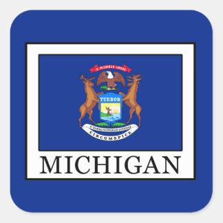 Michigan Square Sticker