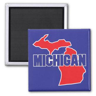 Michigan State 2 Inch Square Magnet