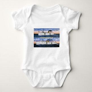 Michigan State Auto Ferries Baby Bodysuit