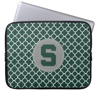 Michigan State Block S Laptop Sleeve