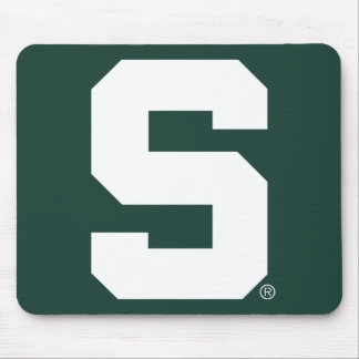 Michigan State Block S Mouse Pad