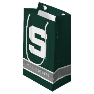 Michigan State Block S Small Gift Bag