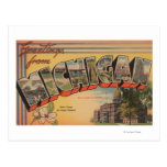 greetings, from, michigan, state, capital, flower,